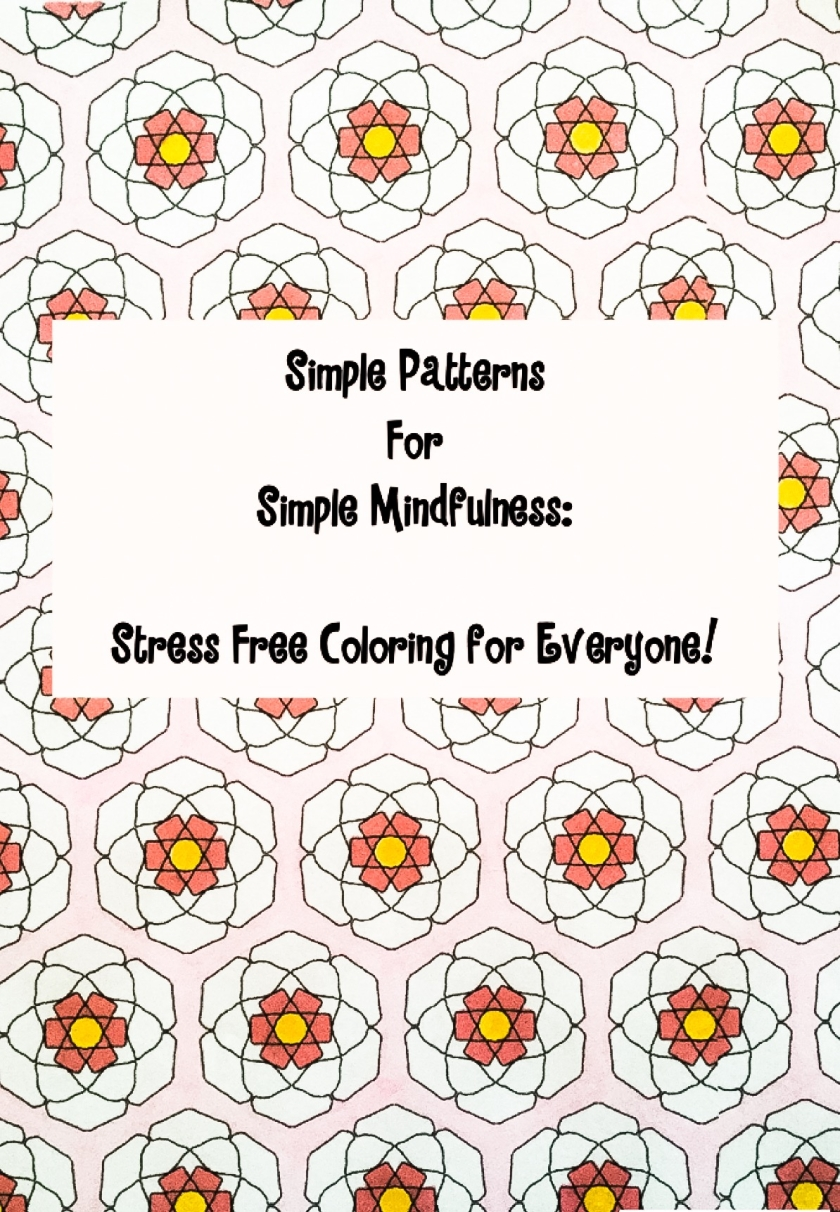 simple pages for simple mindfulness coloring book bpd pieces of me